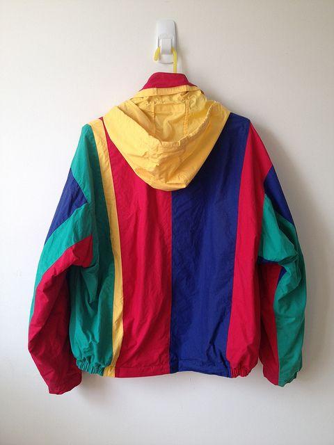 Nautica Color Block Jacket Clothes Color Block Jacket Aesthetic Clothes