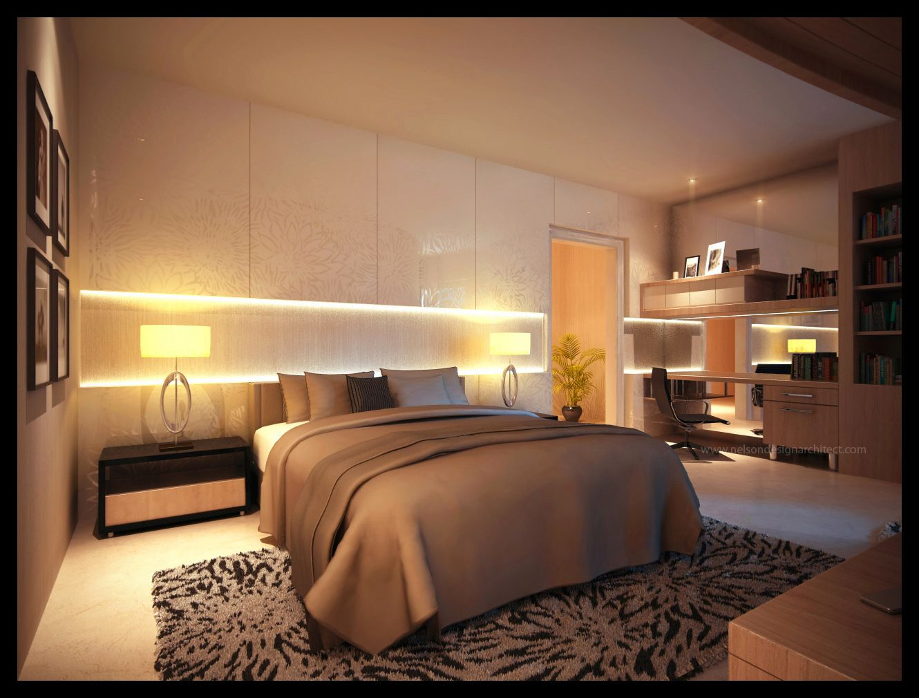 Beautiful bedroom interiors - Bedroom Interiors