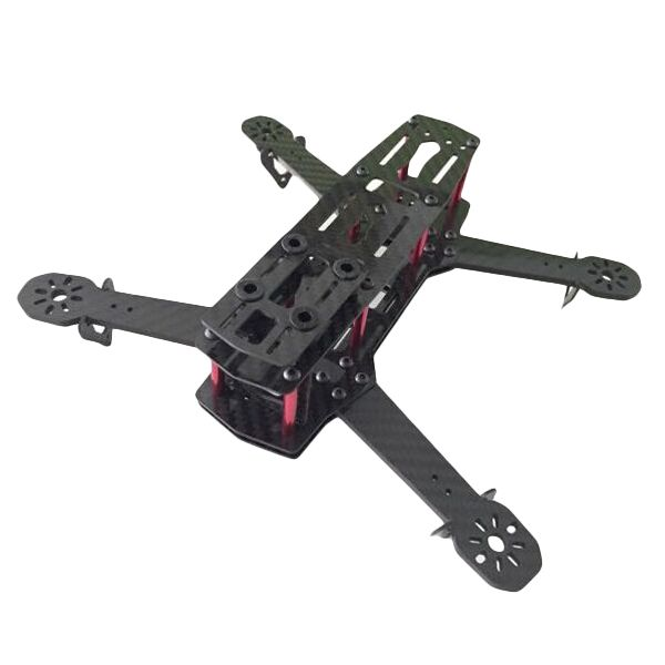 Zmr250 V2 Carbon Fiber Frame Kit Rc Drone Fpv Racing 4 0mm Arm Thickness Support 1806 2204 2206 Power With Images Carbon Fibre Frames Fpv Drone Racing Carbon Fiber