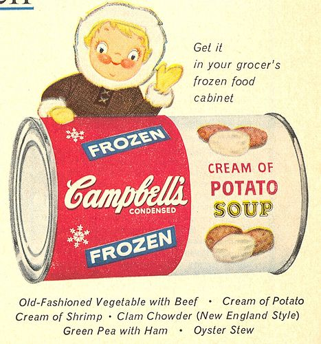 I don't remember this product being around in the 60s--does anyone recall it from the 50s (when this ad appeared)?