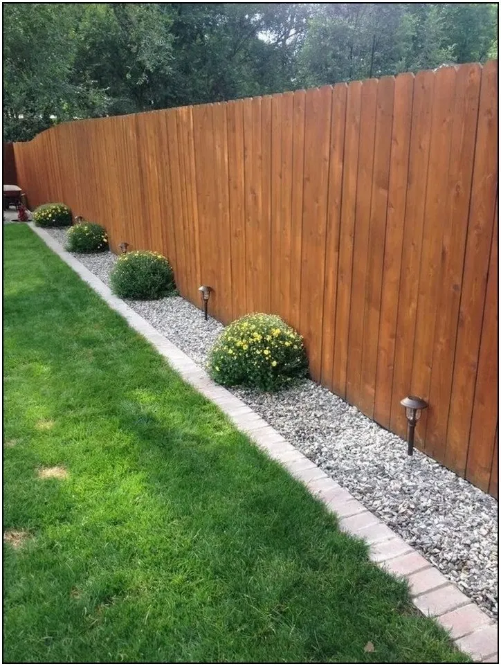 170 Easy And Affordable Diy Backyard Ideas And Projects Page 32 Homydepot Com Garden Landscaping Diy Small Front Yard Landscaping Landscaping Along Fence
