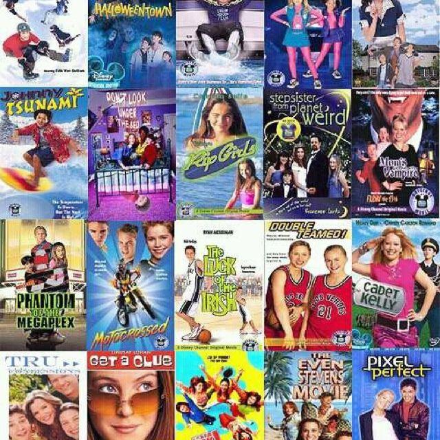 The original Disney Channel movies ( Disney channel