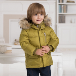Stylish, European-inpsired puffer coats for kids from Dave Bella #boysclothes #kidstyle
