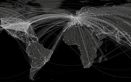 Networks, diffusion and disease geographies - We've Been Looking at the Spread of Global Pandemics All Wrong -  Atlantic Cities