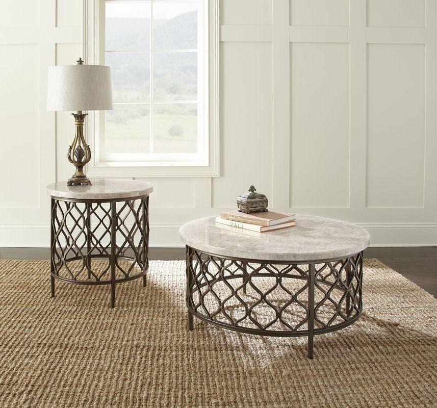 Akbar Coffee Table Coffee Table Round Coffee Table Stone