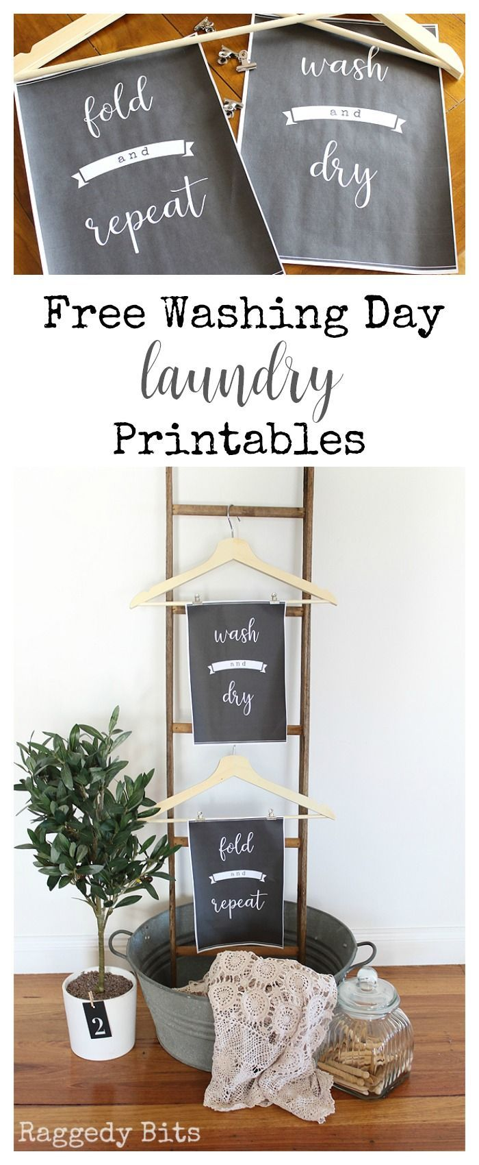 Free Washing Day Laundry Printables Laundry Room Printables