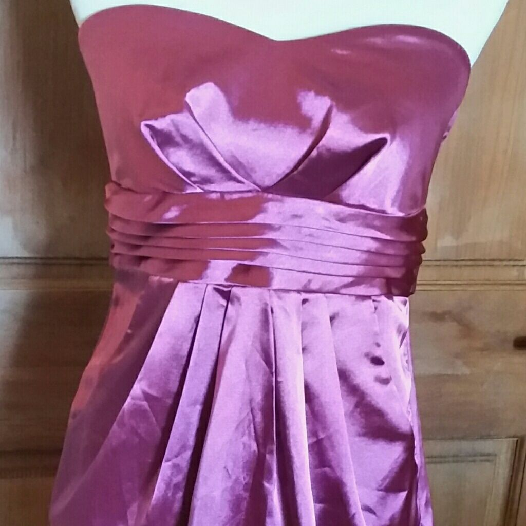 Wedding dresses for fuller figures with sleeves  Ally Bustier Cocktail Dress Lavender Tie Back   Lavender and Products