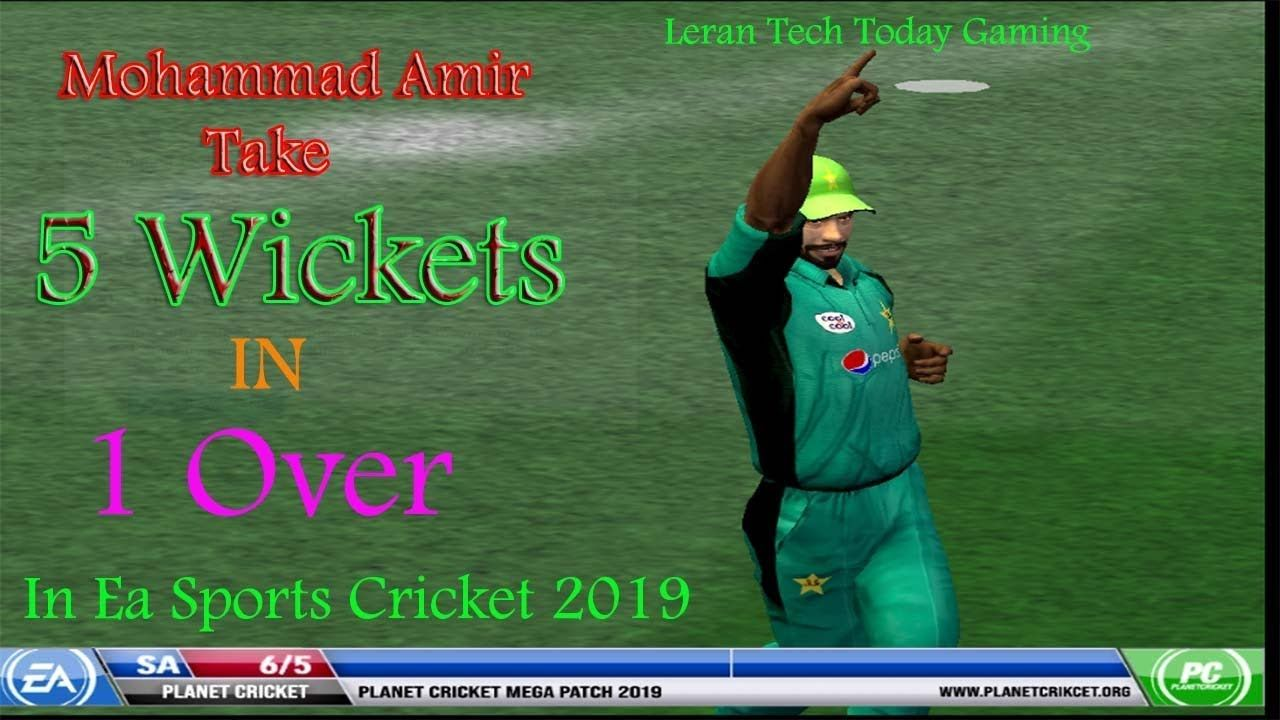 Mohammad Amir Take 5 Wickets In 1 Over Agnist South Africa