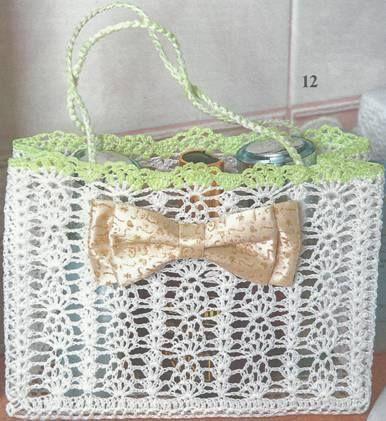Häkelmuster-Fundgrube: Taschen