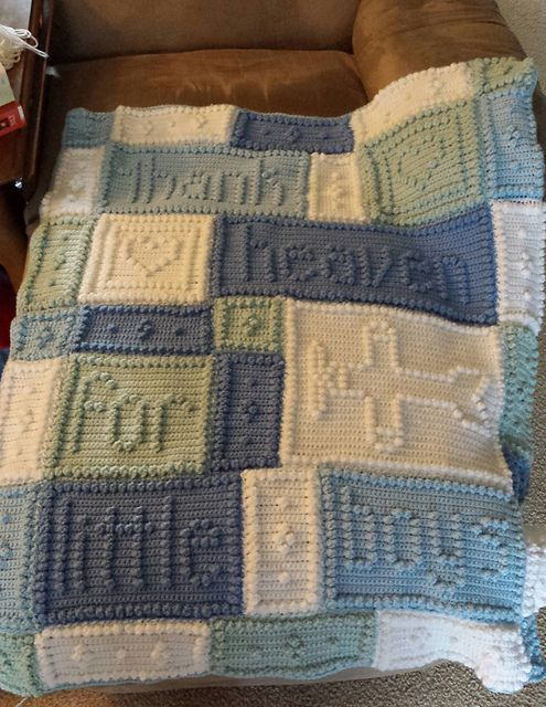 Heaven Baby Blanket Pattern By Jody Pyott Ravelry Heavens And Blanket