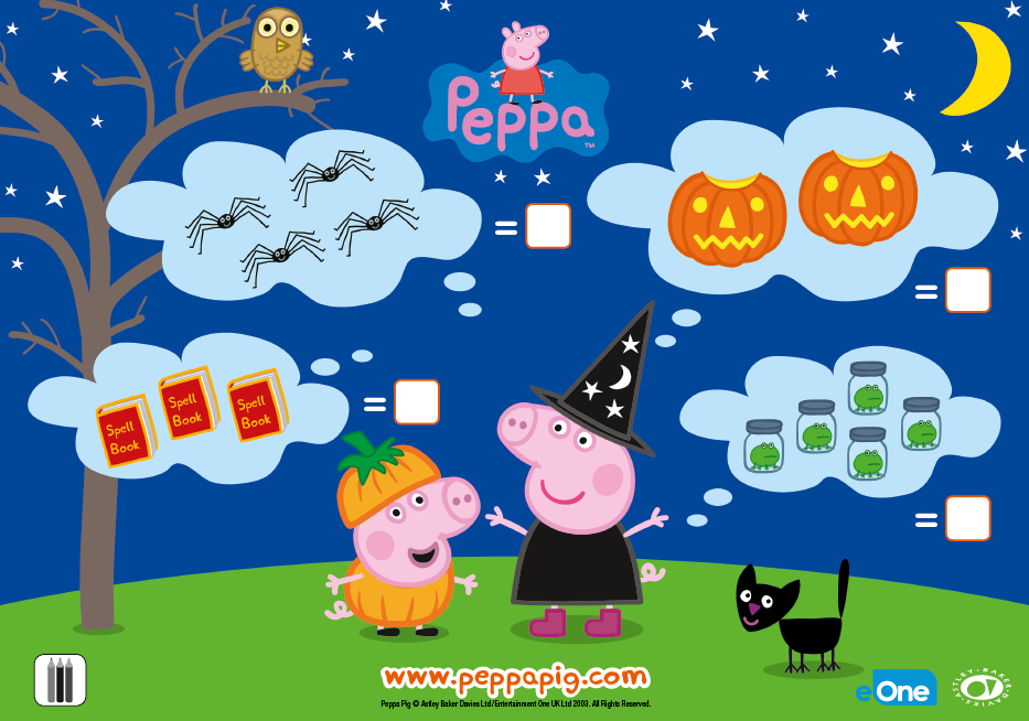 Your little one can practice counting with this special Peppa Pig ...