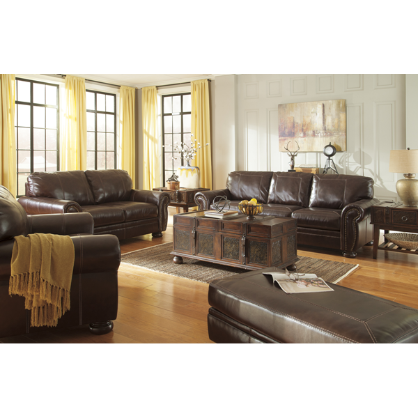 Beautiful Leather Living Room Set | Brianu0027s Furniture