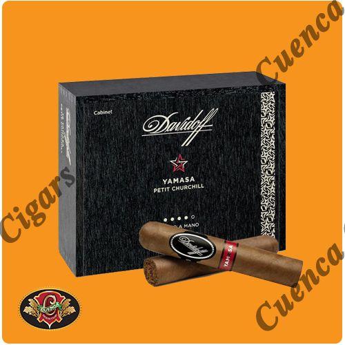 Davidoff Yamasa Petit Churchill Cigars - Box of 14 - Price: $146.90