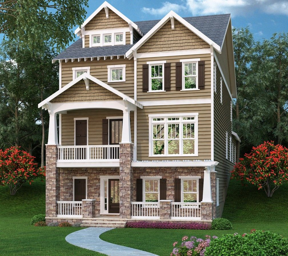 Rising Upward And Containing Approximately 3,391 Square Feet Of Space, This  Three Tiered Home Offers