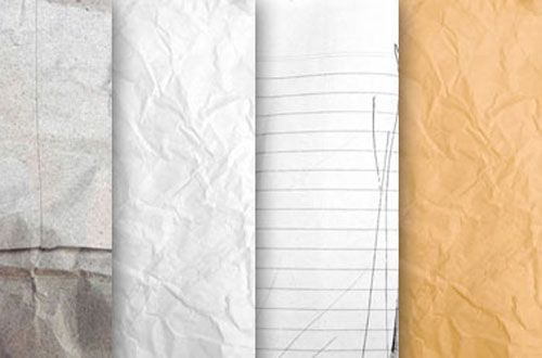 A Collection Of Free Crumpled Paper Textures