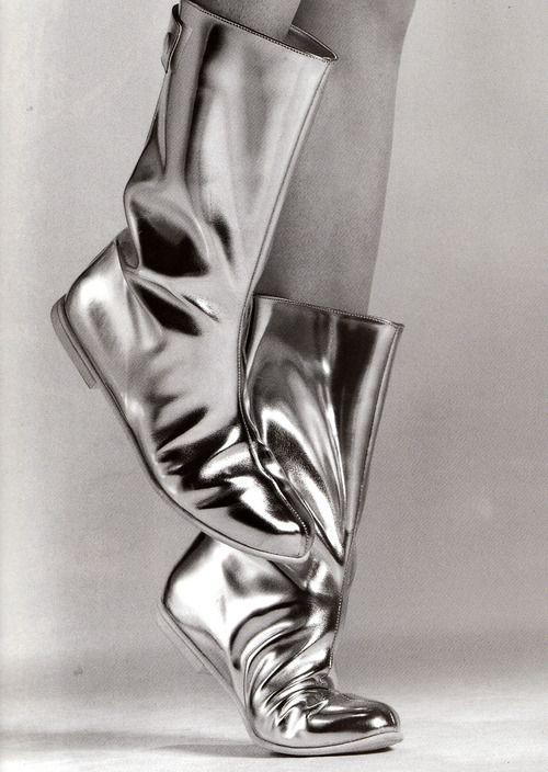 271b8ba7b18 Courrèges boots by Greg Kadel for Vogue Paris