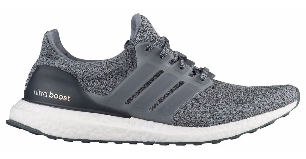 New Adidas UltraBoost 3.0 Mens Running Shoes Gray / Grey Ultra Boost BA8849