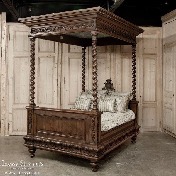 Antique Bedroom Furniture 19th