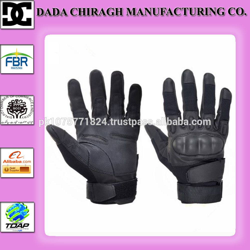 Diavolo leather motorcycle gloves - Outdoor Sports Military Tactical Gloves Airsoft Hunting Motorcycle Cs Paintball
