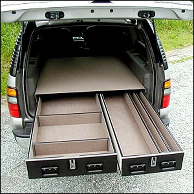 Standard Series Offset Drawer Units in 2020 Suv storage