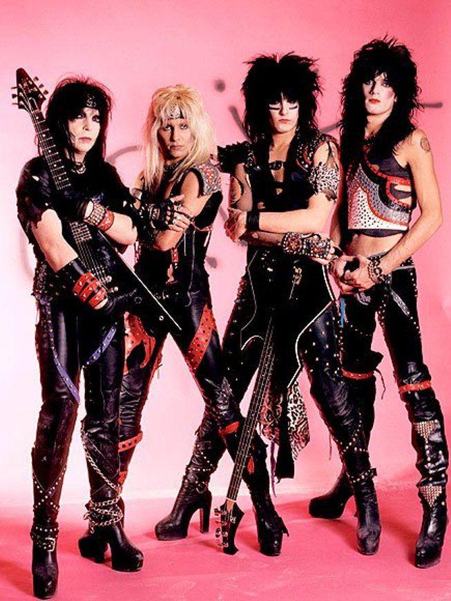 Groupe Hard Rock Année 80 : groupe, année, Mötley, Crüe, Fille, Heavy, Metal,, Metal, Musique,, Groupe