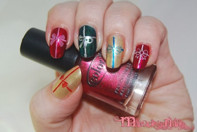 Pre-Christmas nails