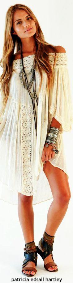 Boho bohemian hippy hippie gypsy style. For more follow www.pinterest.com/ninayay and stay positively #pinspired #pinspire @ninayay