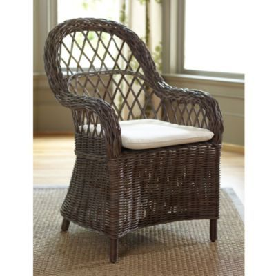 I Am Loving The Ballards Design Malvern Dining Chair With Cushion