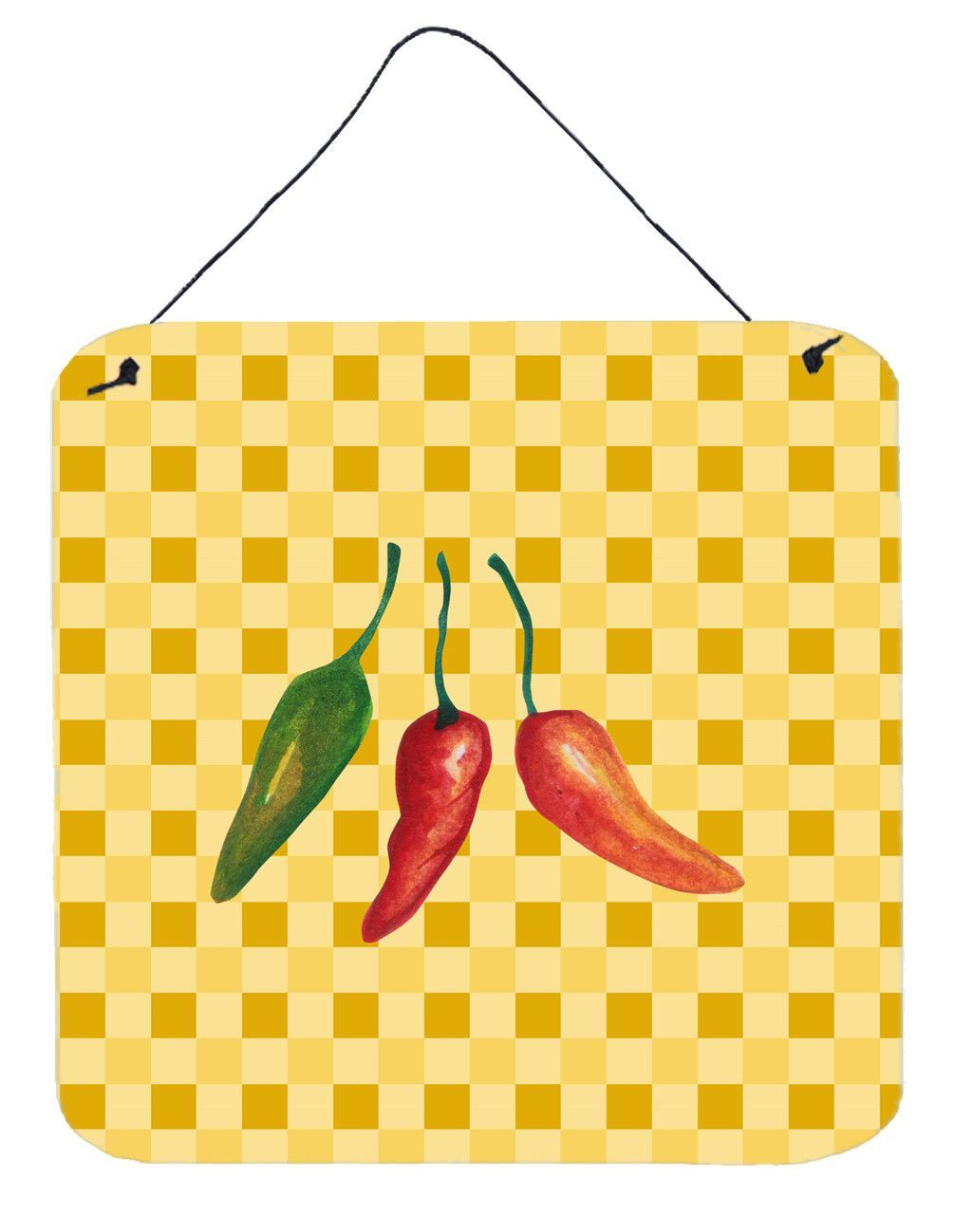 Cayenne Pepper on Basketweave Wall or Door Hanging Prints BB7191DS66 ...