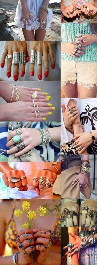 How to Chic: NEW RINGS - AMAZING MOODBOARD