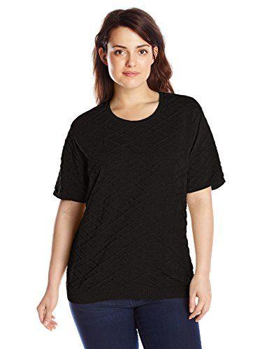 888ca72b7914 Alfred Dunner Women s Plus-Size Short-Sleeve Sweater – WOMEN S ...