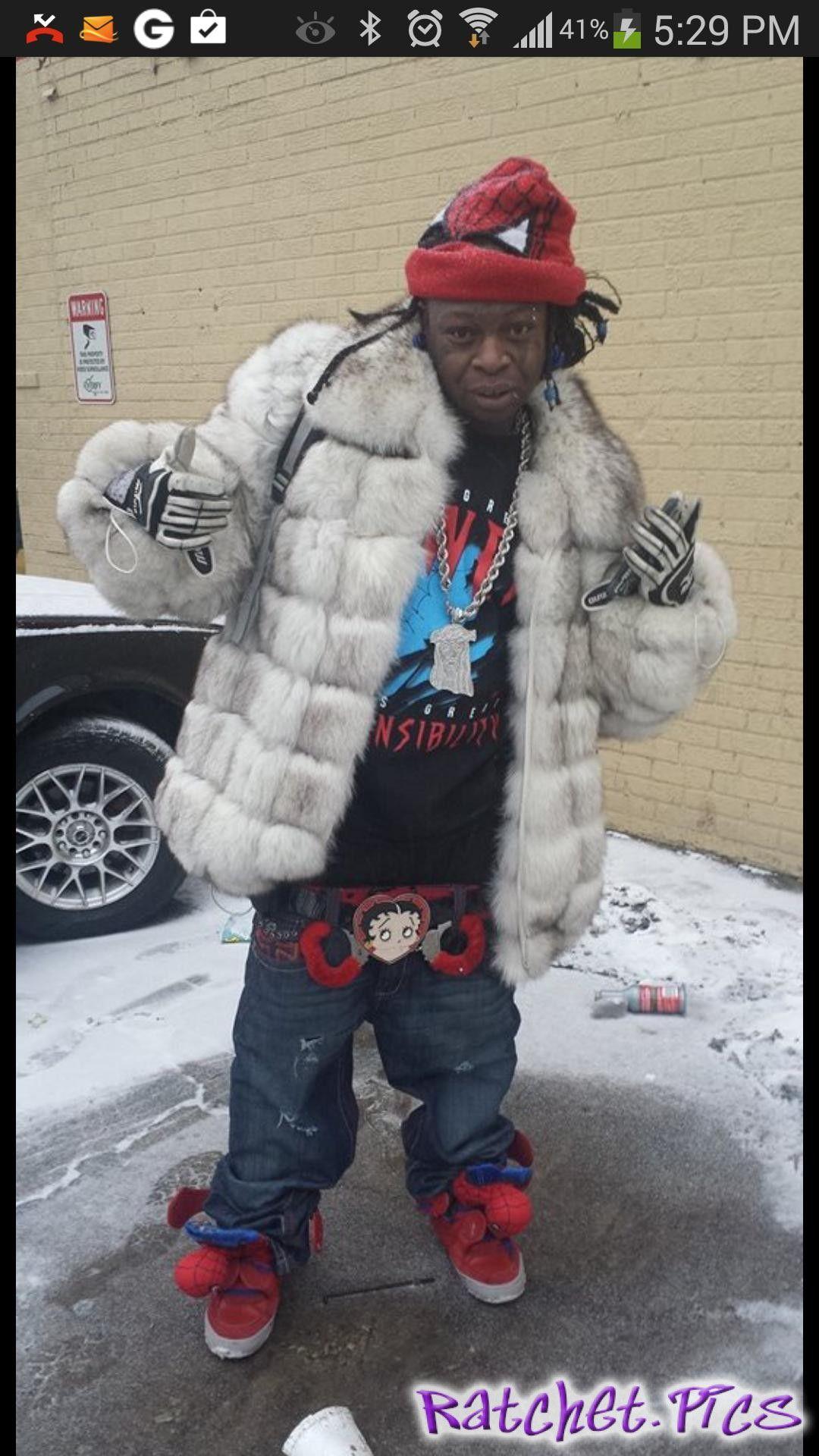 Ghetto fabulous black granny