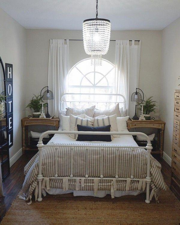 20 Farmhouse Style Master Bathroom Remodel Decor Ideas: 20 Charming Farmhouse Bedroom Ideas You Can Copy