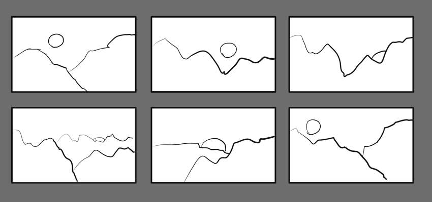 How To Create Thumbnail Sketches Drawings Elements Of Art Thumbnail Sketches