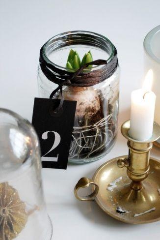 diy les jacinthes r cup chic deco noel pinterest. Black Bedroom Furniture Sets. Home Design Ideas