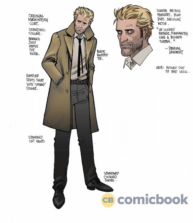 Simon Oliver And Moritat On Bringing John Constantine Back To Being An A Hole In The Hellblazer John Constantine Constantine Comic Constantine Hellblazer