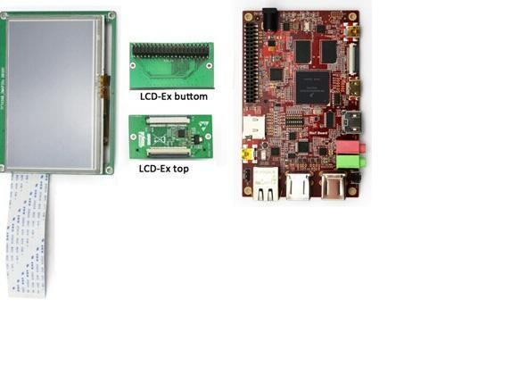 Lcd Ex 16 24 Bit Rgb Parallel Conversion Module Designed For Tft Lcd Display New Design Lcd Display