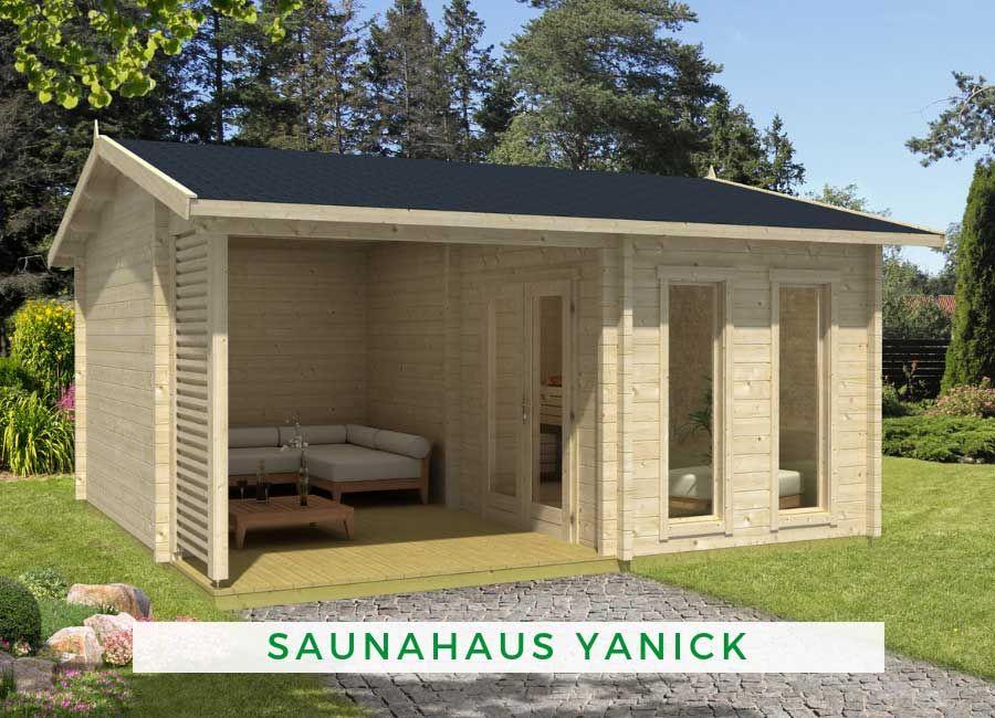 Gartensauna Ideen Saunahaus Yanick Saunahaus Gartensauna Mit Vorraum Saunahaus Garten
