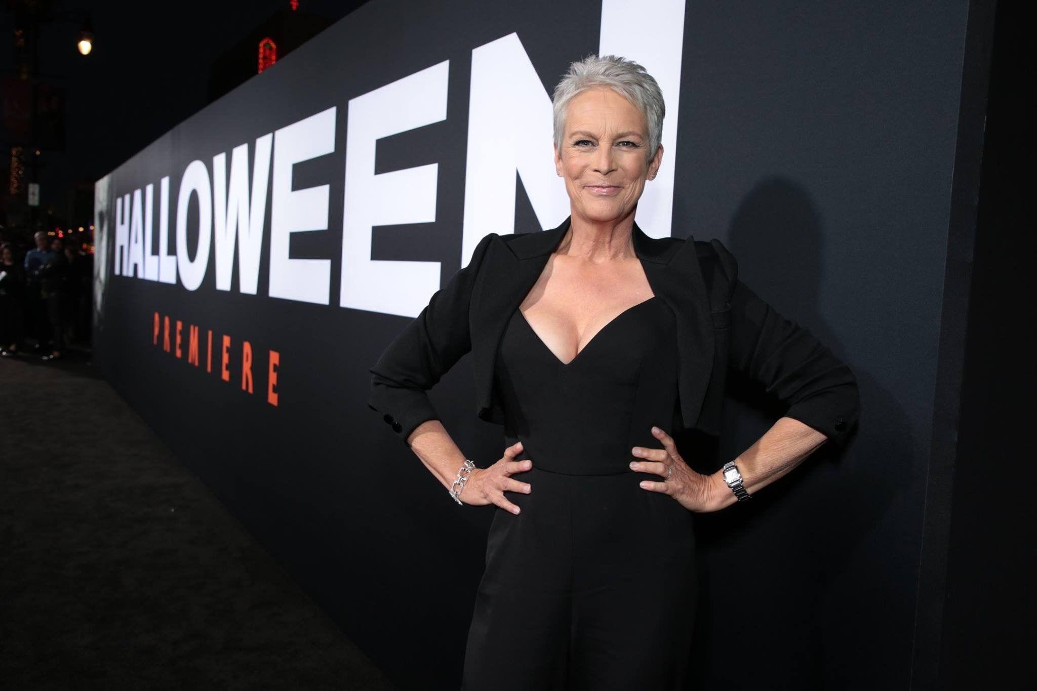 Jamie 2018 Halloween movies, Jamie lee curtis, Dressed
