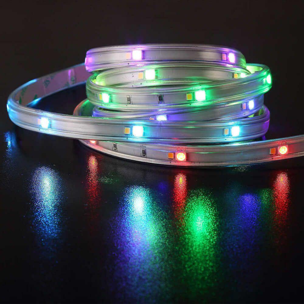 Intertek Dsi 36 Ft Linkable Led Flexible Tape Light 16 Color Option Intertek Tape Lights Led Light Strips Color Options