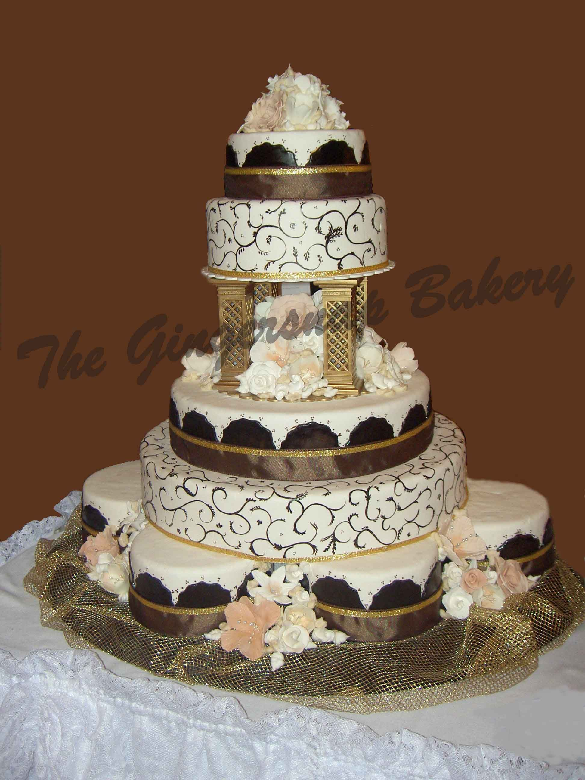 The Gingersnap bakery - Create Your Wedding Cake