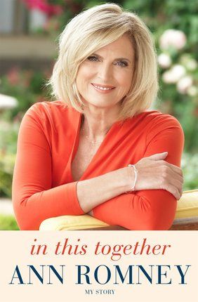 In This Together: My Story. In this heartfelt memoir, Ann Romney, former First Lady of Massachusetts, bestselling author, and founder and global ambassador of the Ann Romney Center for Neurologic Diseases at Brigham and Women's Hospital in Boston, will talk candidly about her journey with multiple sclerosis.