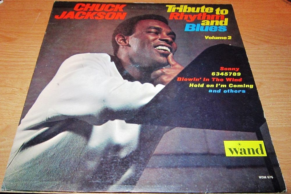1966 Lp Chuck Jackson Tribute To Rhythm And Blues Volume 2 On Wand 676 Chuck Jackson S 1966 Album Tribute To Rhythm And Blue R B Rhythm And Blues Vinyl Records