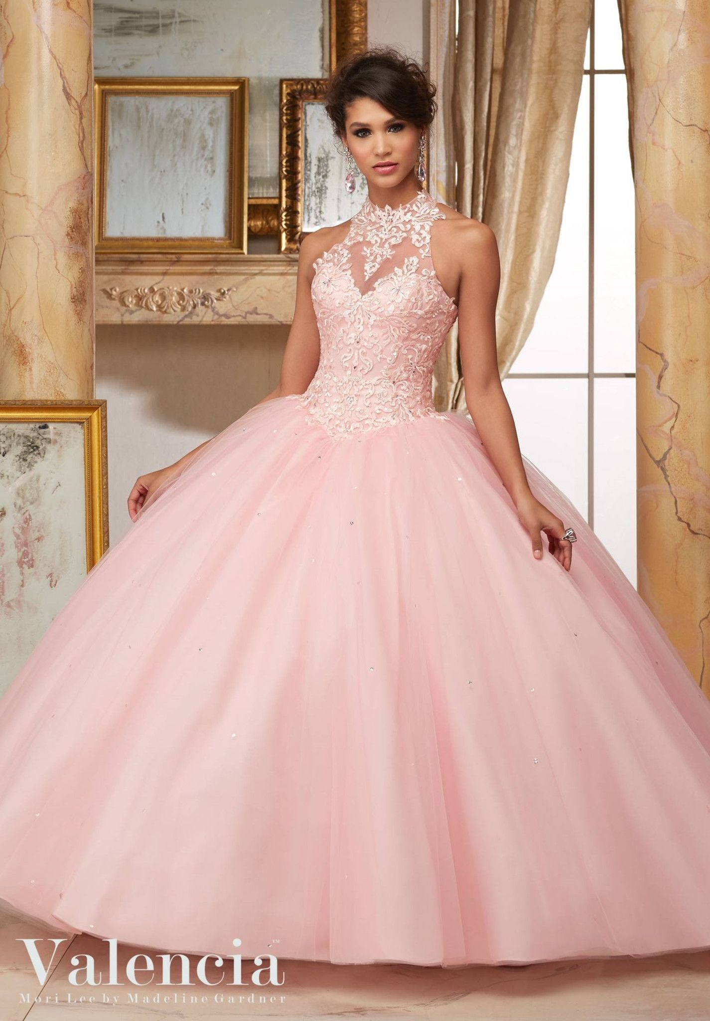 Mori Lee Valencia Quinceanera Dress 60004 | Vestido de quince ...