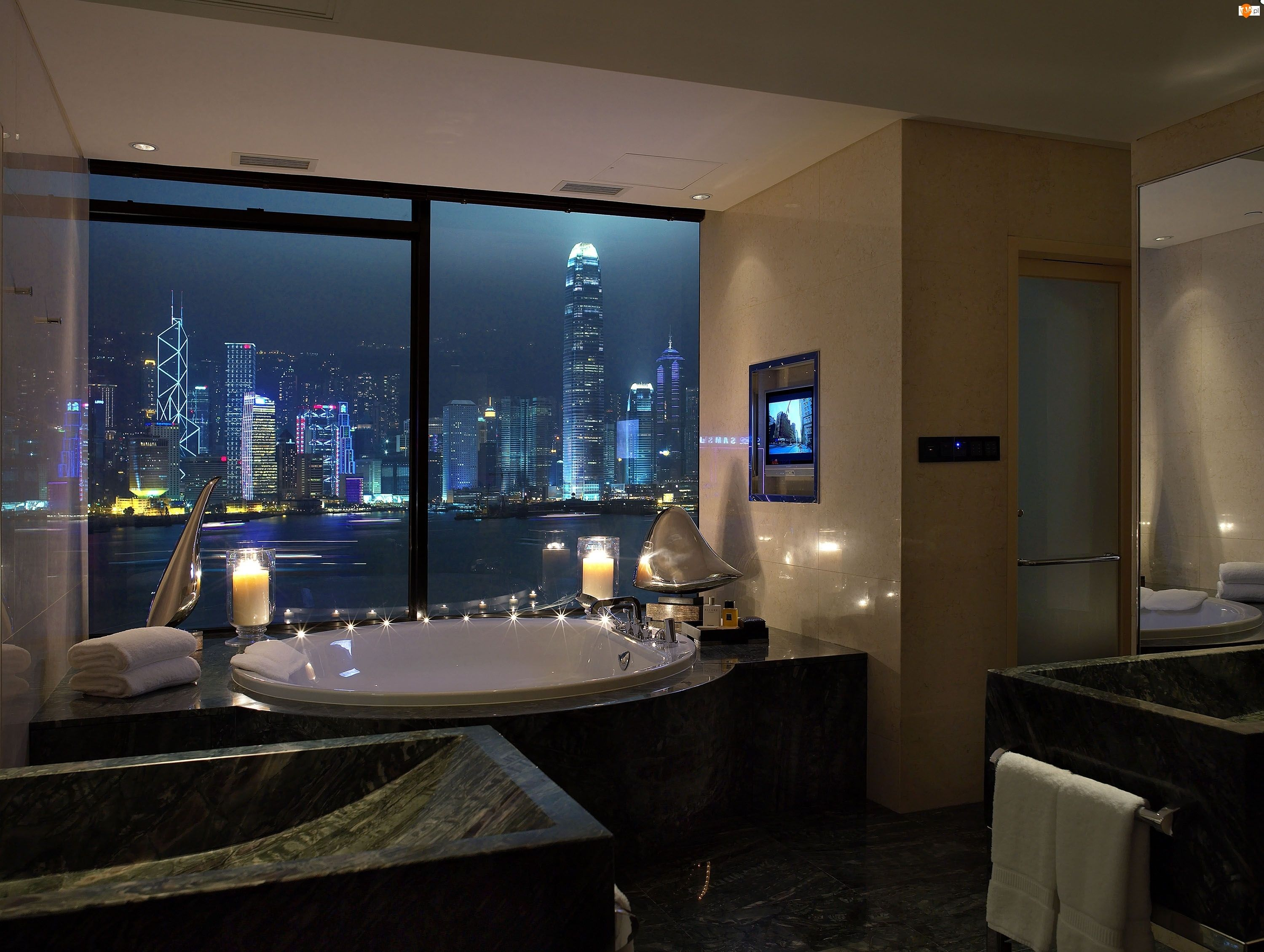 Bathroom at the Intercontinental Hong Kong | Foreign Story Locations ...