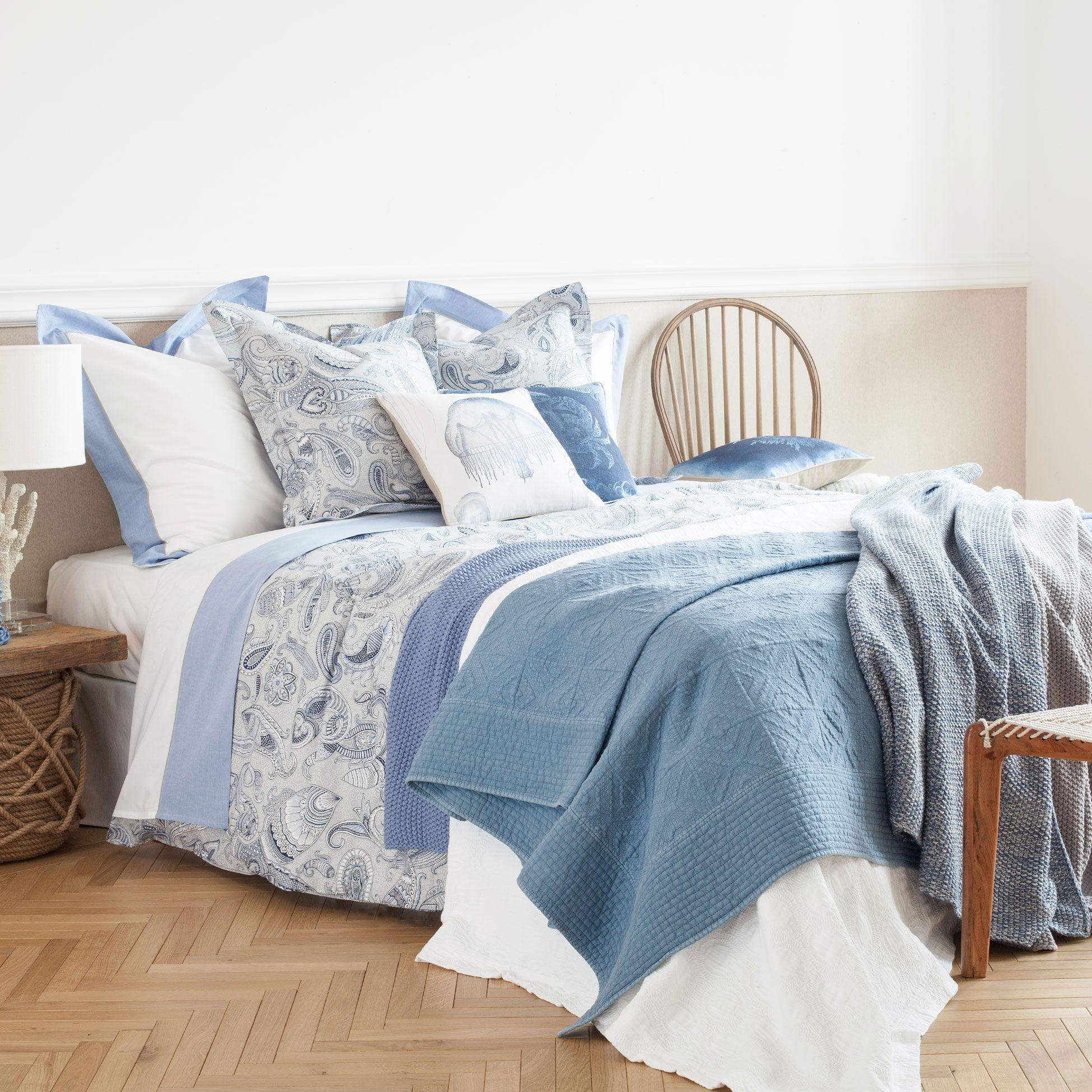 Linge de lit imprim style marin linge de lit lit - Zara home letto bambino ...