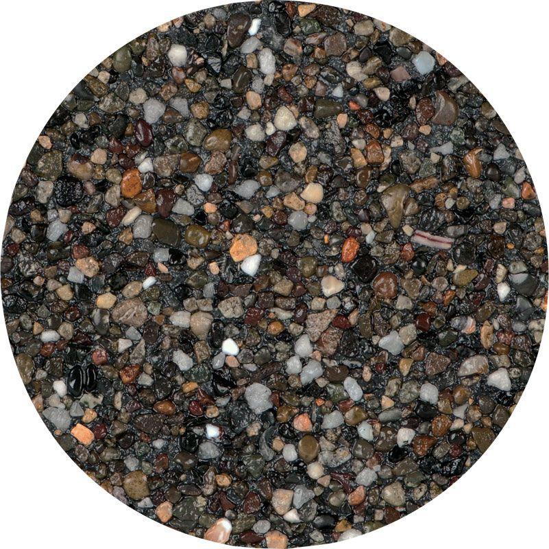 Black Stonescapes Mini Pebble From Npt Pool Finishes