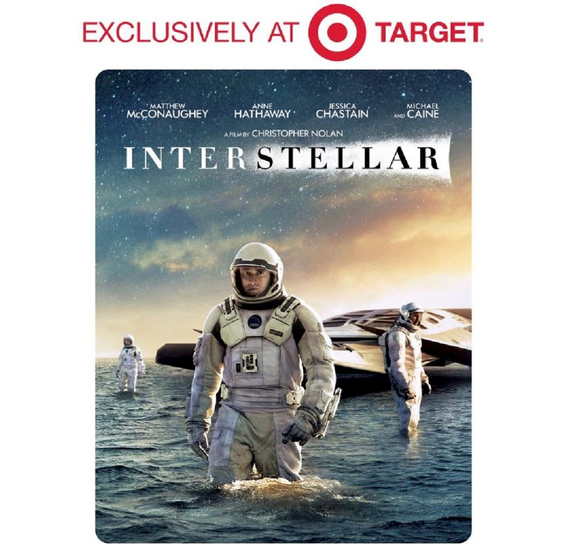 Anne Hathaway And Matthew Mcconaughey Movies: Interstellar (2-Disc Blu-ray + Dvd + Digital Copy