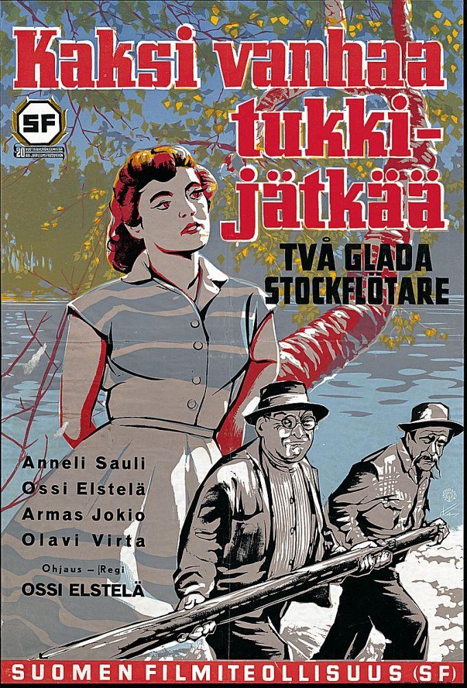 Kaksi vanhaa tukkijätkää (1954)