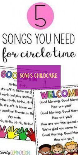 Chansons Garde D'enfants Songs Childcare